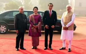 President of Indonesia, Joko Widodo Visits India to Enhance Strategic Partnership