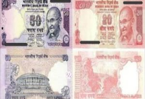 Rs.50 and Rs.20