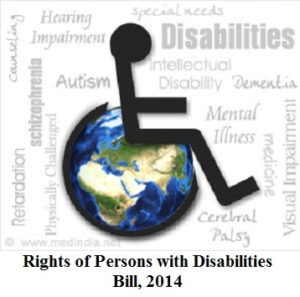Rights of Persons with Disabilities Bill, 2014