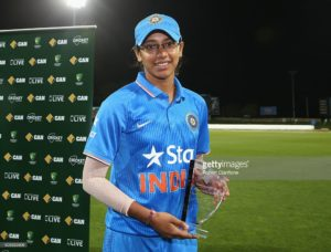 Smriti Mandhana Named in first-ever ICC Women's Team of the Year