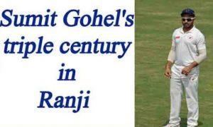 Gujarat's Samit Gohel Creates World Record Score of 359