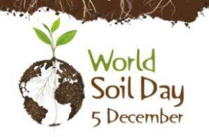 World Soil Day - December 5 2016