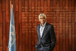 Ashok Amritraj Appointed UN in India Goodwill Ambassador for the Sustainable Development Goals