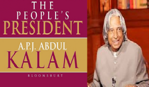 """Book on Dr. Kalam titled """"The People's President: Dr. A P J Abdul Kalam"""" released"""