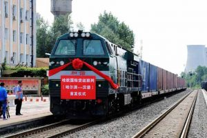 China launches first freight train to London