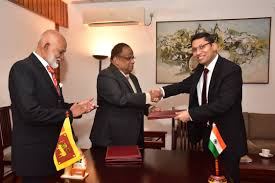 India-Sri Lanka Signs MoU for constructing 3,000 Rain Water Harvesting Systems