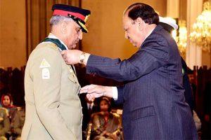 Pakistan awards Nishan-e-Imtiaz to Army chief Qamar Bajwa