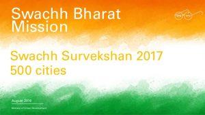 Swachh Bharat survey