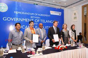 Telangana Government signs MoU to set up Aero Skill Academy
