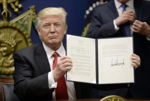 Trump Bans 7 nations from Entering US on Security Issues