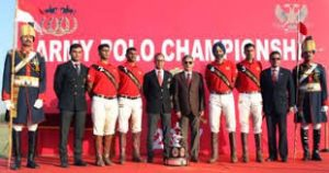 61 Cavalry Defeats Army Service Corps to win Army Polo Championship