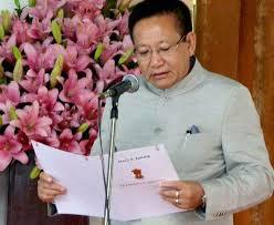 Former CM T R Zeliang