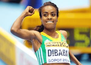 Genzebe Dibaba Breaks World Record to Win Women's 2000 Metres