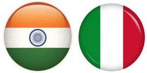 India & Italy flag