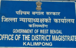 Kalimpong as separate district of WB