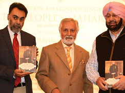 Amarinder Singh's Biography 'The People's Maharaja' Released