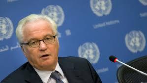 Russia's UN envoy Vitaly Churkin dead at 64