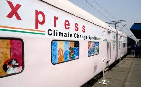 Science Express' Train Flagged off to Create Climate Change Awareness in India
