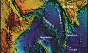 Scientists Finds Evidence of Lost-Continent Mauritia Submerged Under Indian Ocean