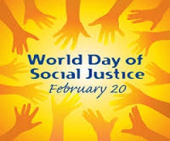 World Day of Social Justice - February 20