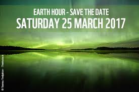 10th Earth Hour Observed on March 25, 2017