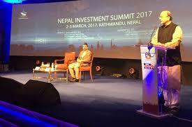 Arun Jaitley Visits Nepal To Attend 2017 Nepal Investment Summit