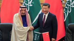 China & Saudi Arabia