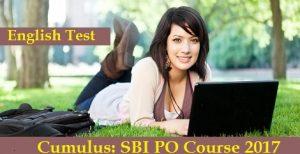 SBI PO 2017 - English