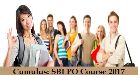 Cumulus SBI PO Course 2017