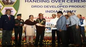 DRDO handed over it's product to Army