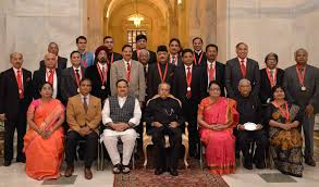 Dr. B. C. Roy National Awards and Hari Om Ashram Alembic Research Awards presented by the President of India