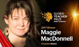 Canadian Teacher Maggie MacDonnell Wins $1-million Global Teacher Prize 2017