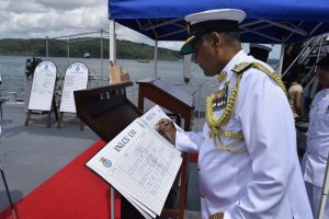 INLCU L51 commissioned into Indian Navy at Port Blair
