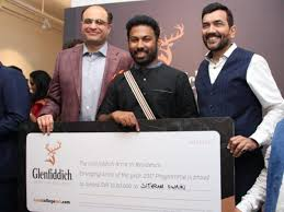 Odia Installation Artist Sitaram Swain wins Glefiddich's Emerging Artist 2017