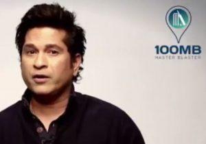Cricket Legend Sachin Tendulkar Launches 100MB Cricket App