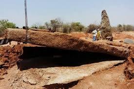 Telangana Archaeologists Find World's Largest Capstone