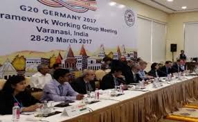 Third G-20 framework working group meet held at Varanasi, Uttar Pradesh