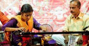 Vaikom Vijayalakshmi becomes first to play Gayathri veena for record five hours