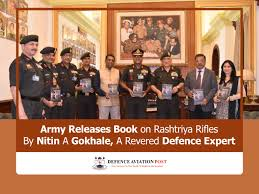 Indian Army Releases Book Titled 'Home of the Brave' on Rashtriya Rifles