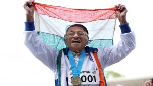 101-year-old wins sprinting gold medal at the World Masters Games in Auckland