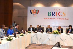 BRICS special envoys on Middle-East meet held in Vishakhapatnam