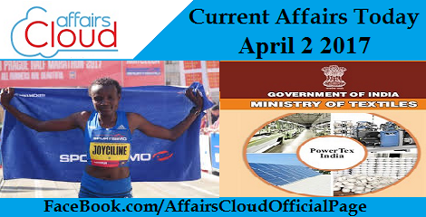 Current Affairs Today April 2 2017