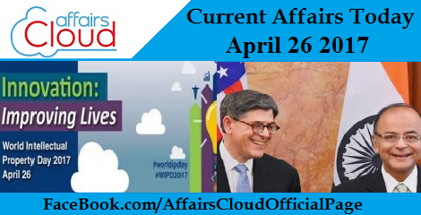 Current Affairs April 26 2017