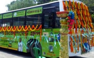 First bio-gas bus with flat Re 1 fare inaugurated in Kolkata