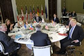 G-7 Foreign Ministers Meeting held in Lucca, Italy