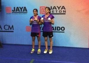 Pullela Gopichand daughter Gayatri wins twin crown in Jakarta