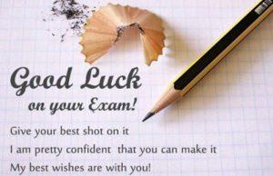 Good luck for SBI PO Prelim
