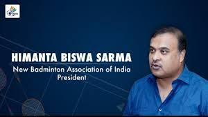 Himanta Biswa Sarma becomes interim BAI president