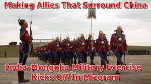 India Mongolia Military Exercise kicks off in Mizoram