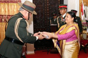 Indian Army Chief conferred with Nepal Army honorary title in Kathmandu
